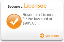 Become A Licensee - After an entry licensing fee of $995, you will receive a 50% discount on the...