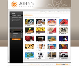 Sample Custom Web Portal